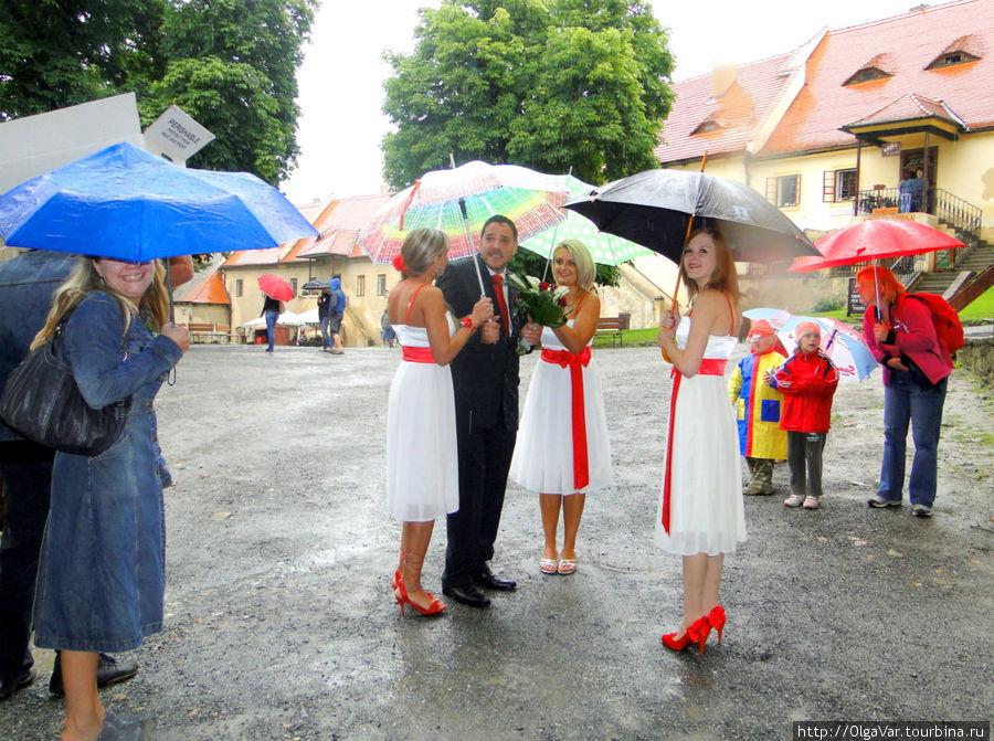 Чешская пара предпочла этот замок для своего торжества