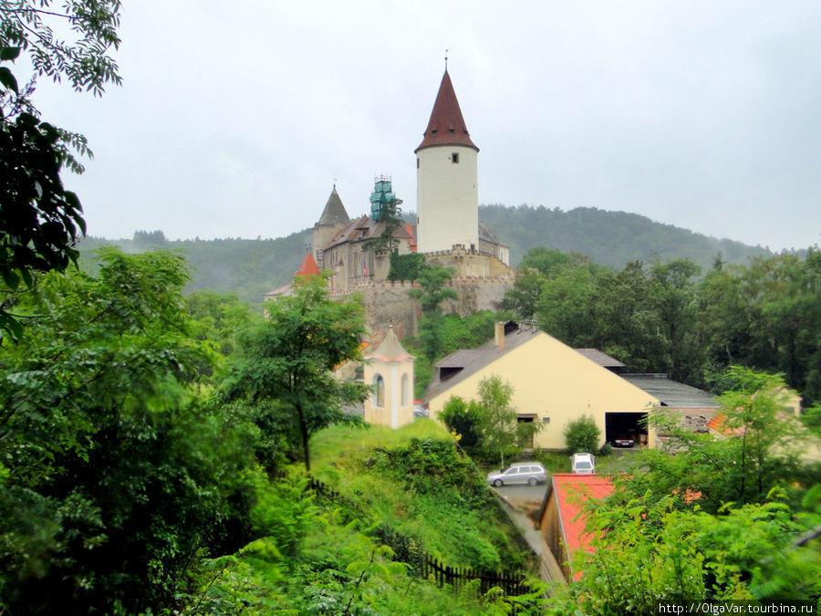 Замок Кршивоклат, где ром