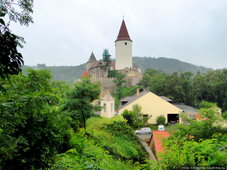Замок Кршивоклат, где романтический вечер новобрачным обеспечен