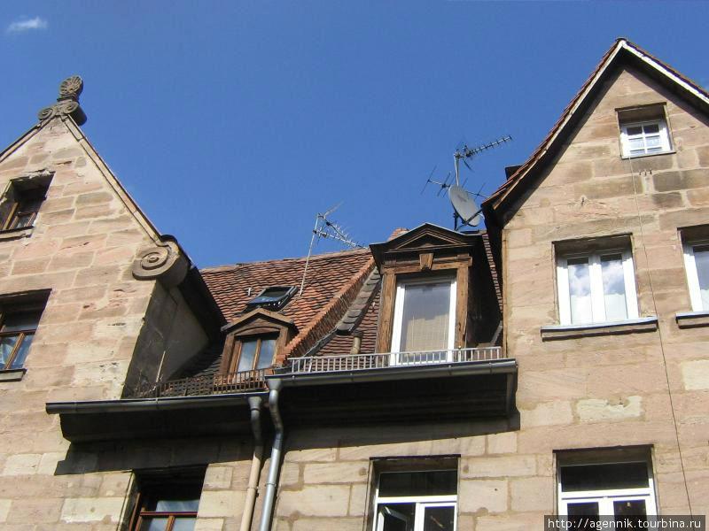 Характерные крыши