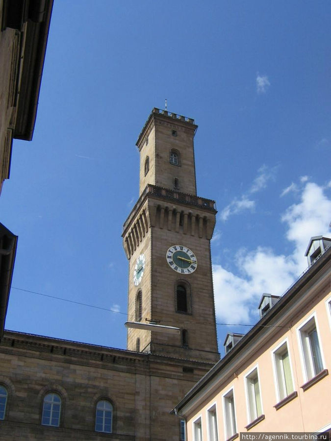 Башня Ратуши Фюрта