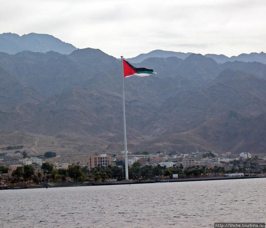 Знаменитый флаг Иордании