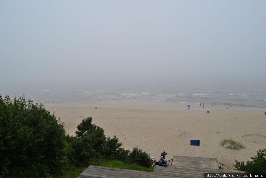 Спуск к пляжу.