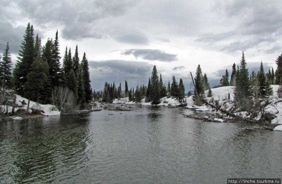 река Cottonwood Creek