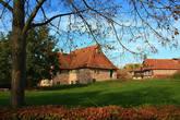 Экологический музей. Домики свезены со всей округи. Крестьянская Франция.