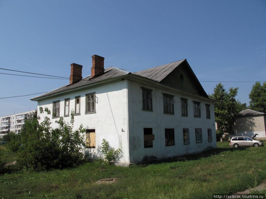 старый дом на улице Кирова Старая Купавна, Россия