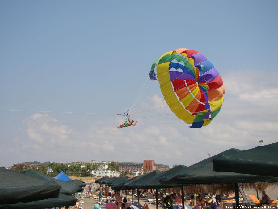 Завлкают на парашют