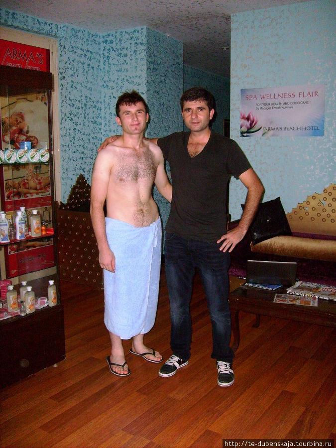 Руководитель спа-салона и массажист.