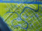 Сувенирный платок с картой города