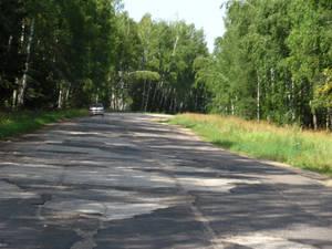 после отличной трассы Москва-Владимир свернули на боковую Кольчугинскую (почуствуйте разницу)