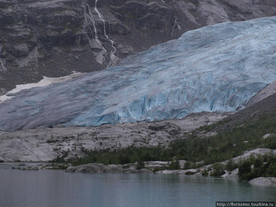 Ледник Jostedalbreen.