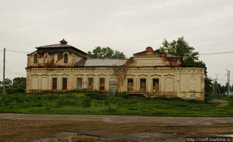 Бывший дом купца Малюшкина