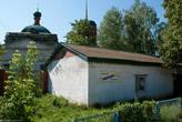 Церковь и магазин «Рябинушка»