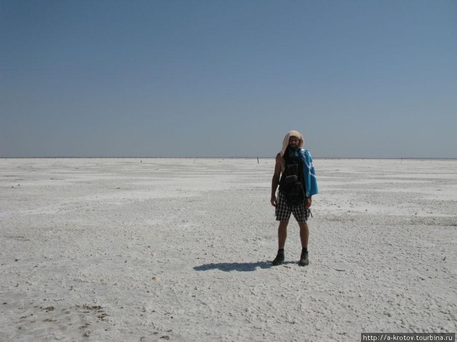 Это не лёд — это соль!