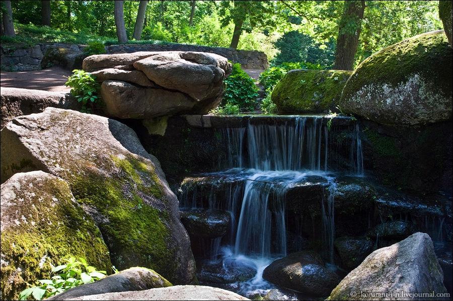 Грот Орешек. Водопад