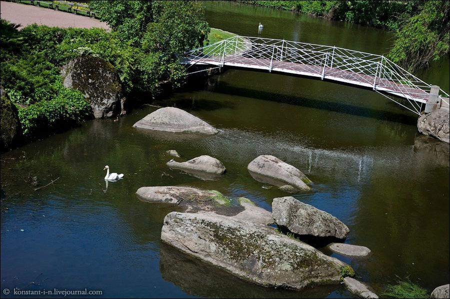Железный мостик