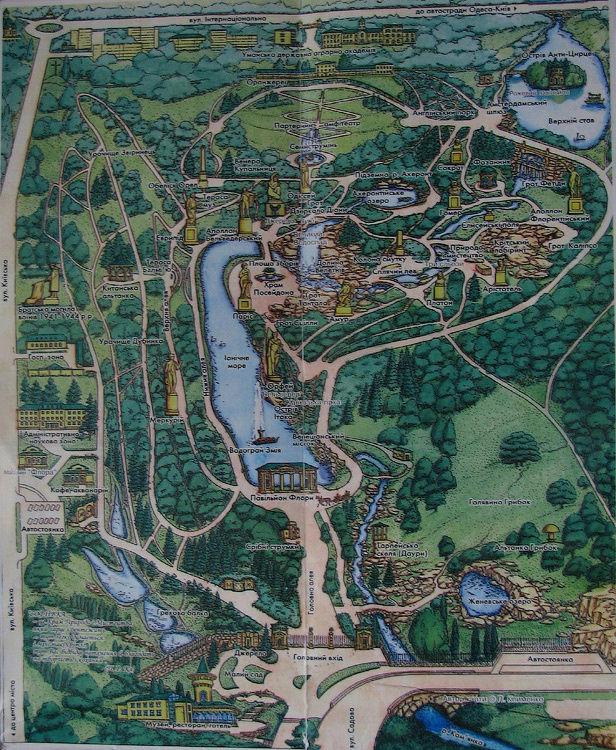 Карта Софиевки