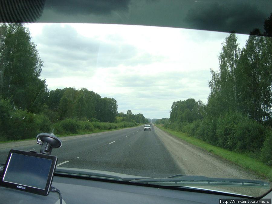 Трасса М-51. Участок Новосибирск-Омск.