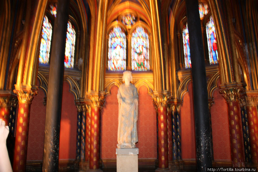 Сент Шапель. Капелла Девы Марии