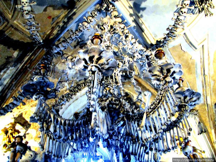Канделябры с черепами, обнаруженные в ходе реставрации,  датируются 1743  годом