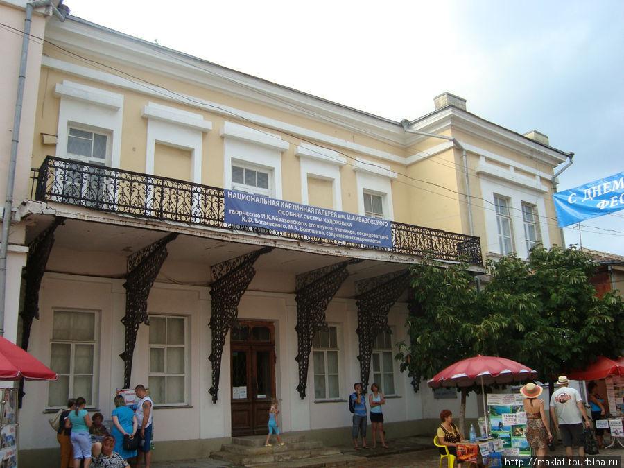 Второй корпус галереи (Дом сестры) по ул.Галерейная, 4.