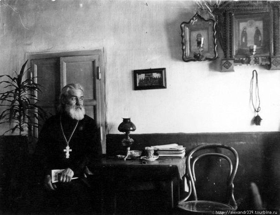 Монах (фото начала XX века)