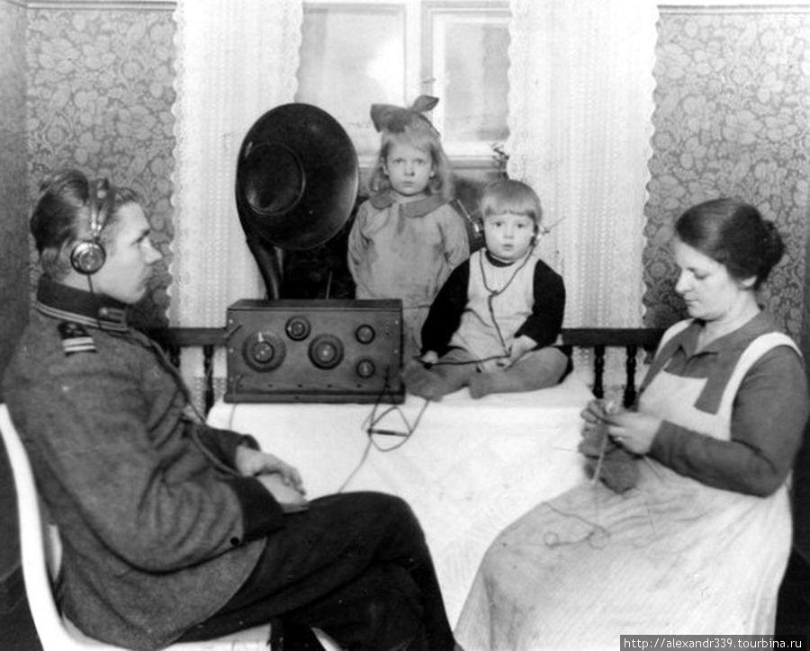 Финский офицер с семьей (довоенное фото)