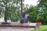 Ленин в Котке, памятник Ленину был подарен Котке городом Таллином в 1979