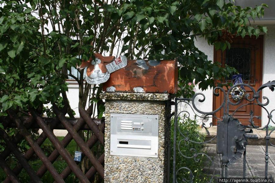 Забавный почтовый ящик
