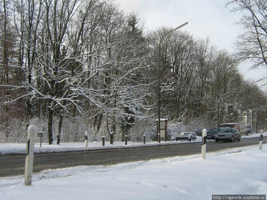 До -20 градусов и много снегоа (по баварским меркам)
