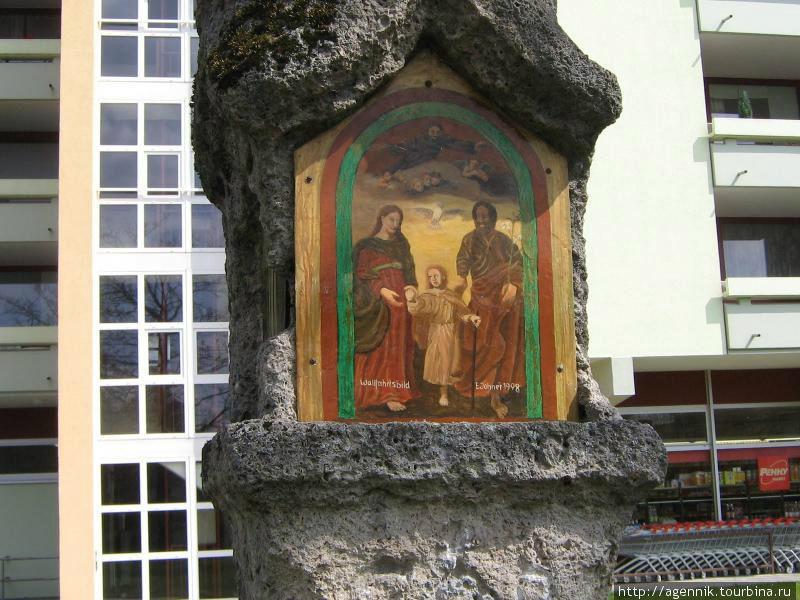 Икона на Чумном столбе