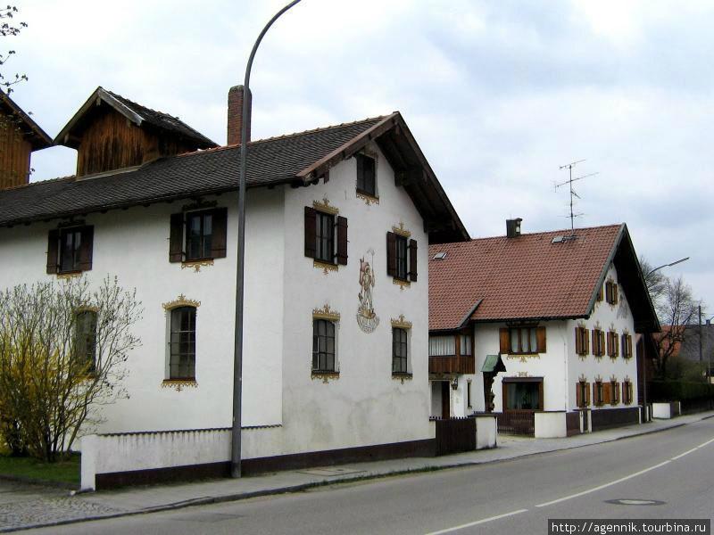 В старой части городка