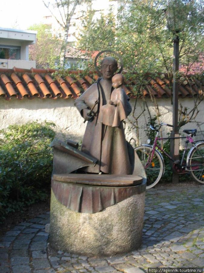 Скульптура св. Корбиниана