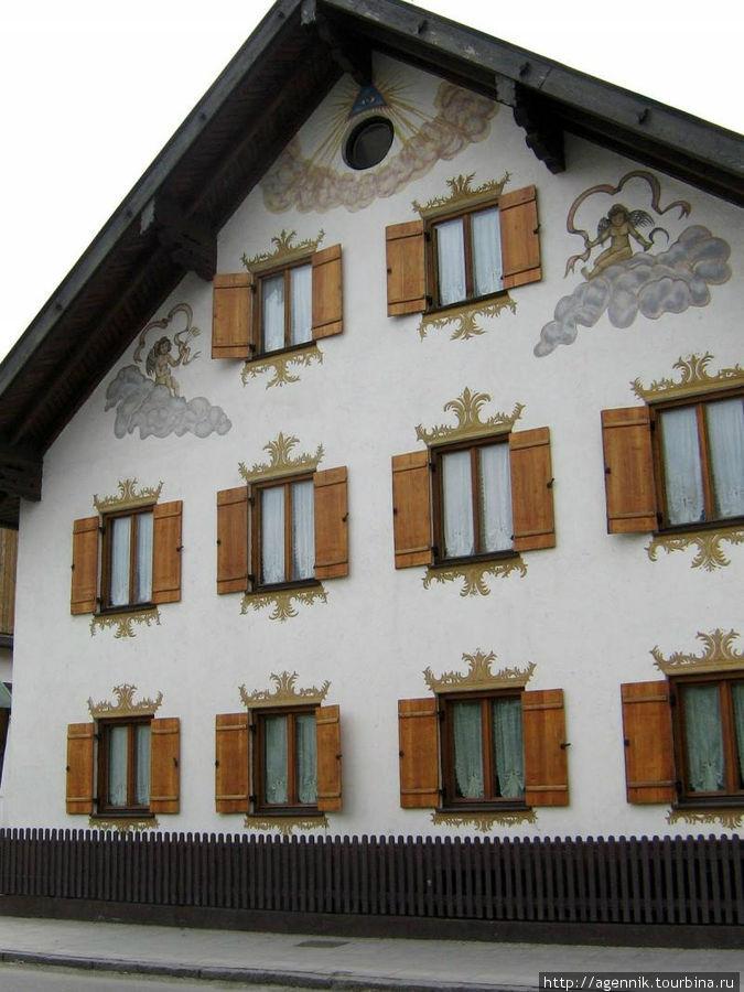 Еще один типичный баварский дом