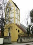 Старейшее здание города- собор св. Корбиниана 1310 года
