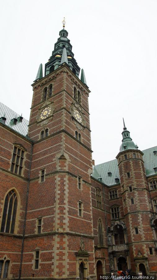 Дания.День 3-ий,11 августа.Замок Фредериксборг в г.Хиллерёд Хиллерёд, Дания