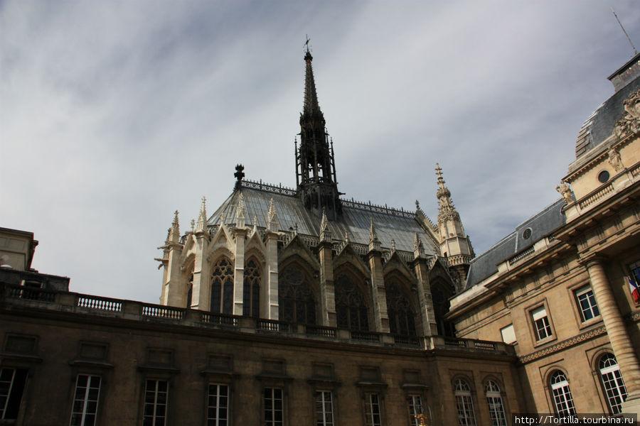 Париж. Сент Шапель