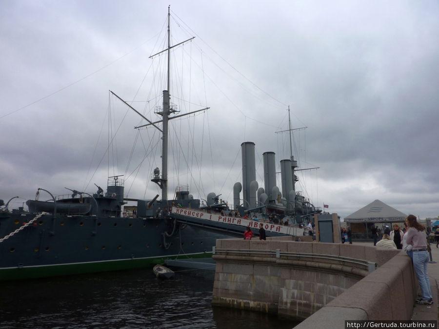 Вход на крейсер