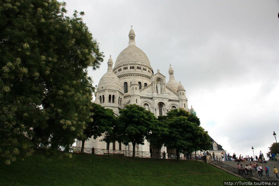 Париж. Монмартр. Базилика