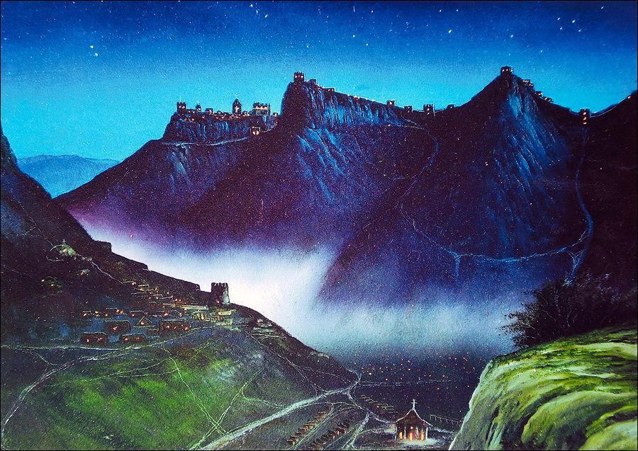 Фантазия художника из деревни Ходжа-Сала.