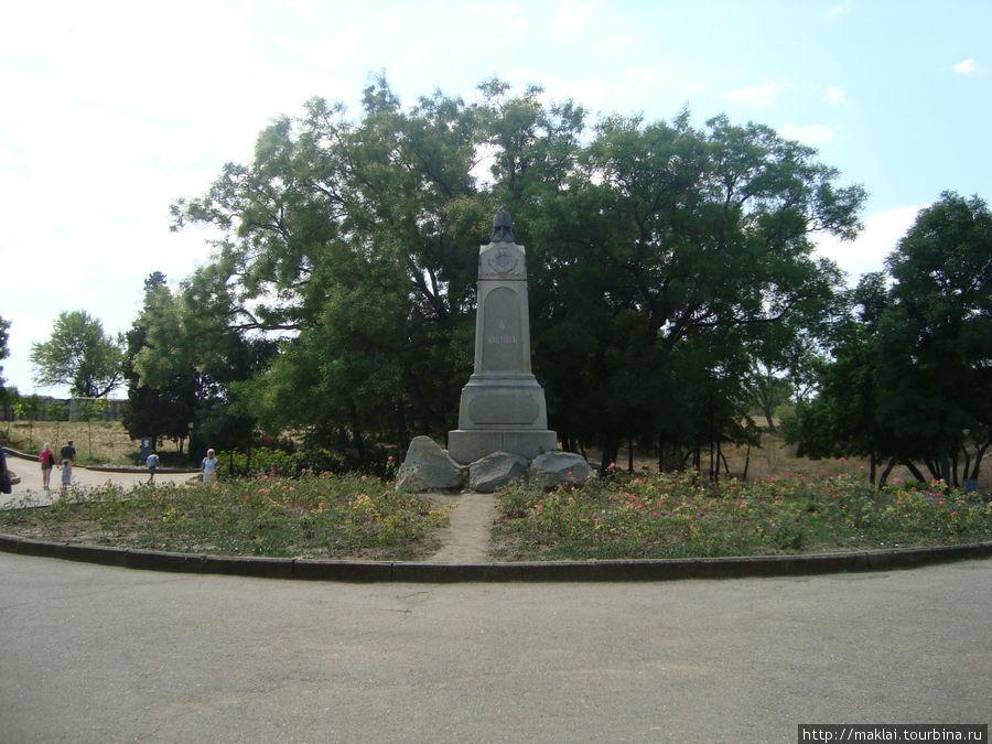 Памятник защитникам 4 бас