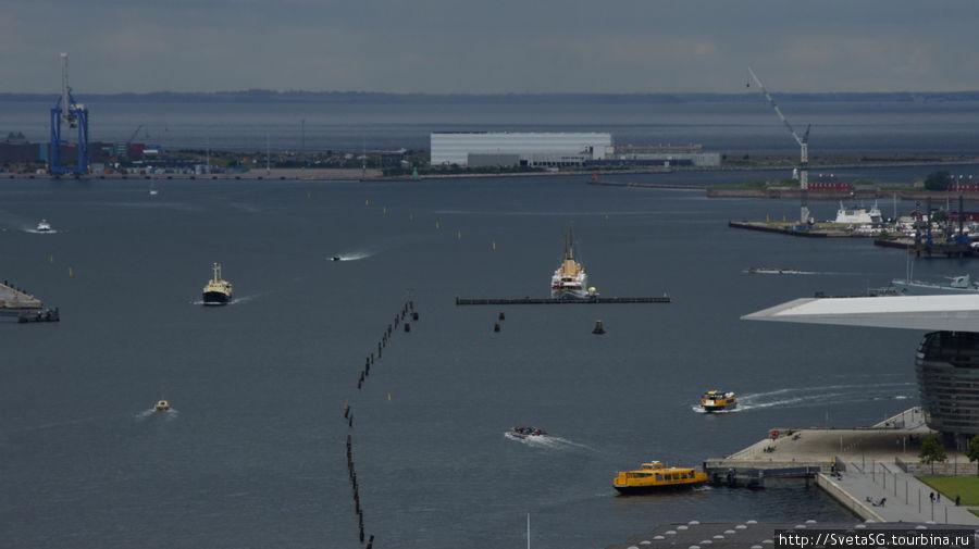 Движуха в порту.