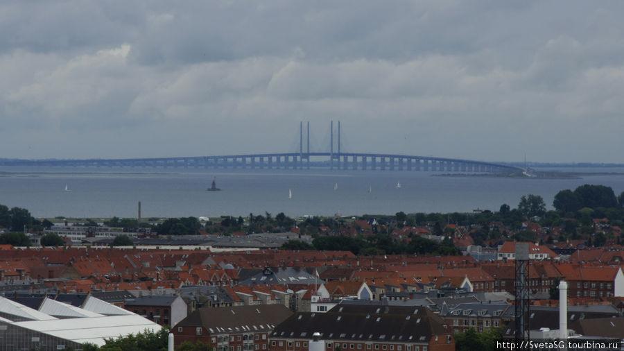 Мост в Мальмо.