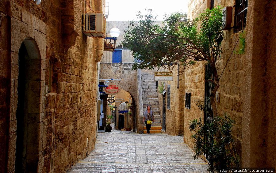 Древние улочки колоритны, бродить по ним — сплошное удовольствие. Яффо, Израиль