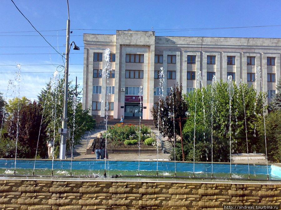 Комрат. Университет