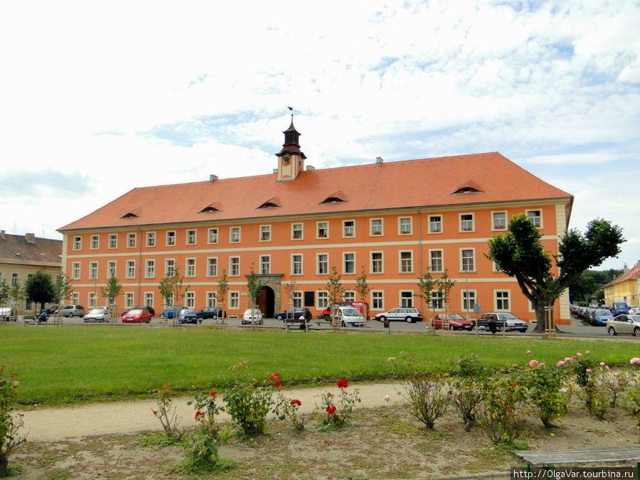 Здание, котором в годы войны работала переселенческая канцелярия