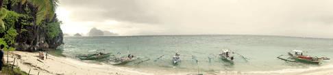 Панорамка этого пляжа
