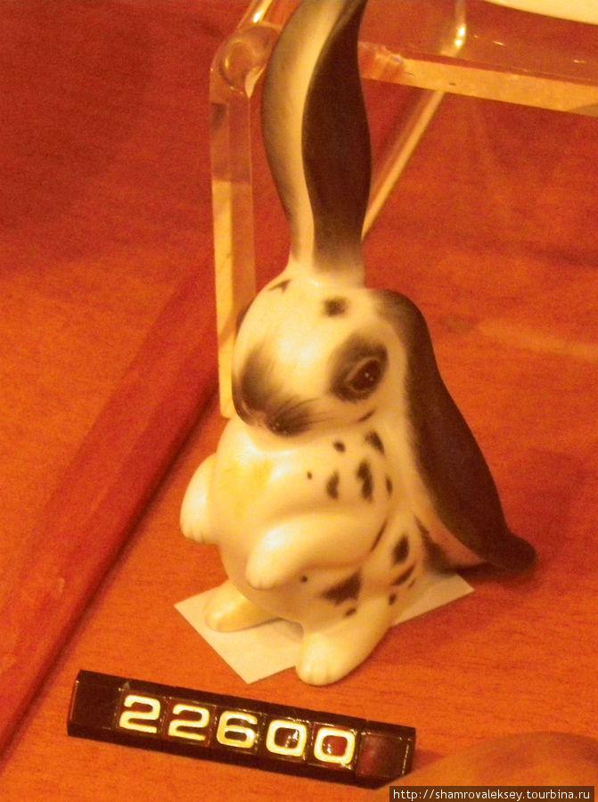 Этот заяц мне понравился больше всего