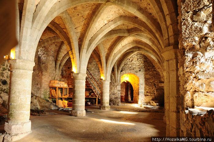 Подземелье Шильонского замка