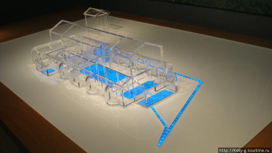 Реконструкция здания римских терм